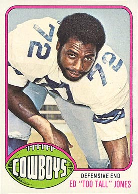 1976 Topps Ed Jones #427 Football Card