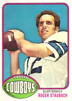 1976 Topps Roger Staubach #395 Football Card