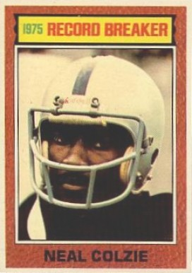 1976 Topps Neil Colzie #2 Football Card
