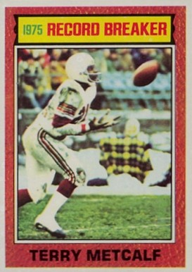 1976 Topps Terry Metcalf #5 Football Card