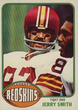 1976 Topps Jerry Smith #12 Football Card