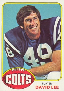 1976 Topps David Lee #13 Football Card