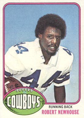 1976 Topps Robert Newhouse #14 Football Card