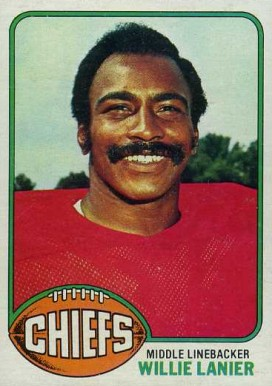 1976 Topps Willie Lanier #24 Football Card