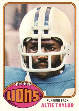 1976 Topps Altie Taylor #79 Football Card