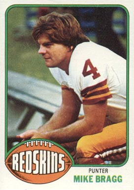 1976 Topps Mike Bragg #91 Football Card