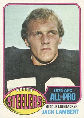 1976 Topps Jack Lambert #220 Football Card
