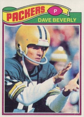 1977 Topps Dave Beverley #78 Football Card