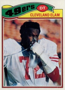 1977 Topps Cleveland Elam #247 Football Card