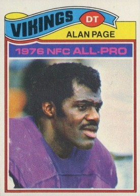 1977 Topps Alan Page #230 Football Card