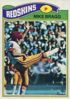 1977 Topps Mike Bragg #389 Football Card