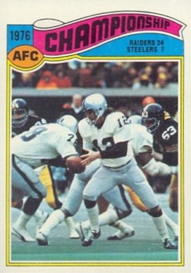 1977 Topps   #526 Football Card