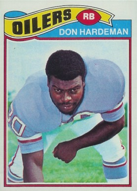 1977 Topps Don Hardman #472 Football Card