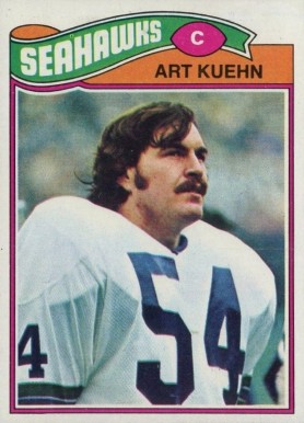 1977 Topps Art Kuehn #437 Football Card