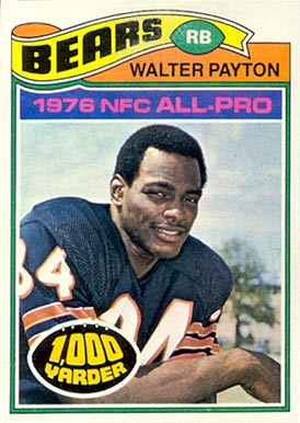 1977 Topps Walter Payton #360 Football Card