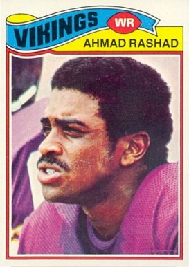 1977 Topps Ahmad Rashad #359 Football Card
