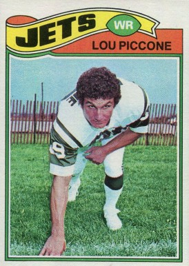 1977 Topps Lou Piccone #333 Football Card