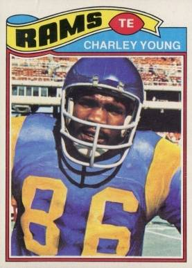 1977 Topps Charlie Young #275 Football Card