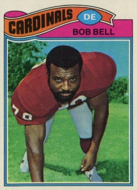 1977 Topps Bob Bell #241 Football Card