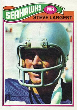 1977 Topps Steve Largent #177 Football Card