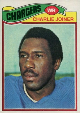 1977 Topps Charlie Joiner #167 Football Card