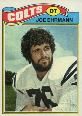 1977 Topps Joe Ehrmann #111 Football Card