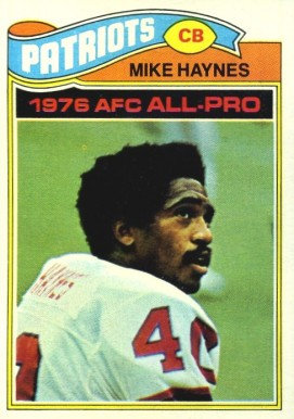 1977 Topps Mike Haynes #50 Football Card