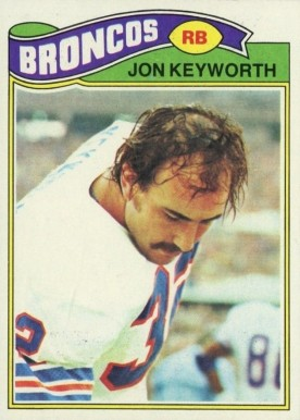 1977 Topps Jon Keyworth #66 Football Card