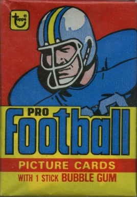 1978 Topps Wax Pack #WP Football Card