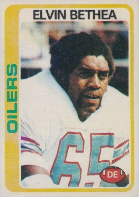 1978 Topps Elvin Bethea #127 Football Card