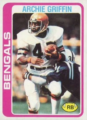 1978 Topps Archie Griffin #55 Football Card
