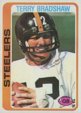 1978 Topps Terry Bradshaw #65 Football Card