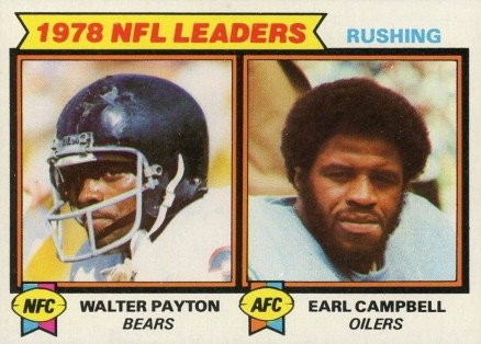 1979 Topps Rushing Leaders #3 Football Card