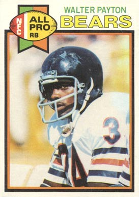 1979 Topps Walter Payton #480 Football Card