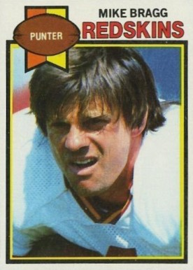 1979 Topps Mike Bragg #396 Football Card
