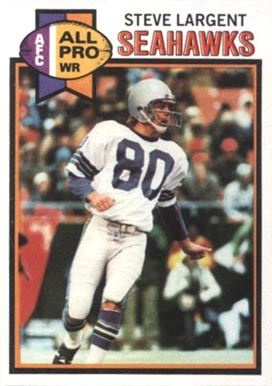 1979 Topps Steve Largent #198 Football Card