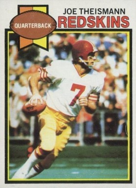 1979 Topps Joe Theismann #155 Football Card