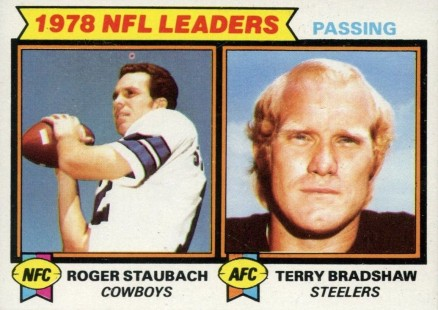1979 Topps Passing Leaders #1 Football Card