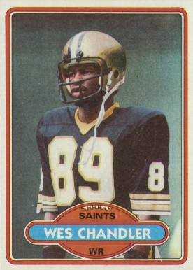 1980 Topps Wes Chandler #275 Football Card