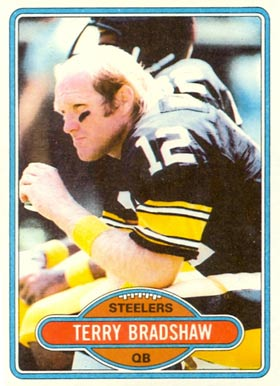 1980 Topps Terry Bradshaw #200 Football Card