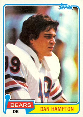 1981 Topps Dan Hampton #316 Football Card