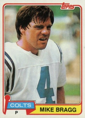 1981 Topps Mike Bragg #483 Football Card