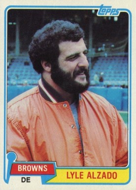 1981 Topps Lyle Alzado #505 Football Card