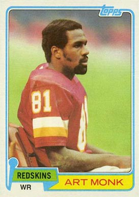 1981 Topps Art Monk #194 Football Card