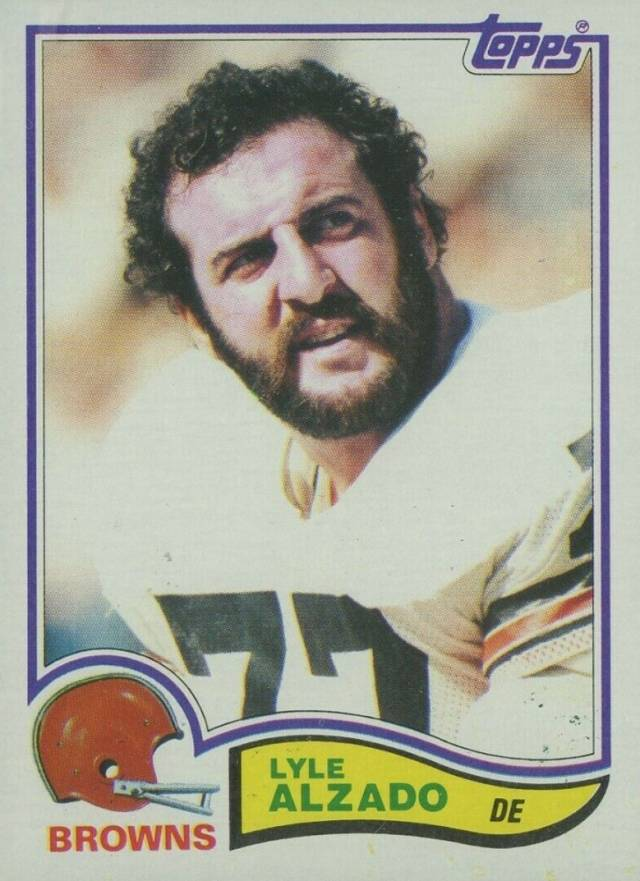 1982 Topps Lyle Alzado #56 Football Card