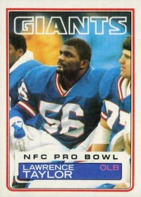 1983 Topps Lawrence Taylor #133 Football Card