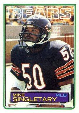 1983 Topps Mike Singletary #38 Football Card