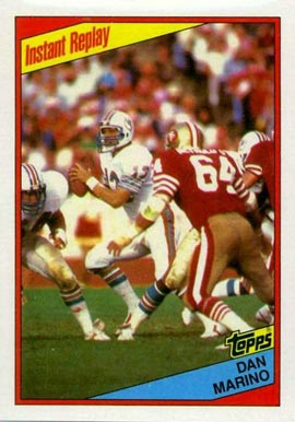 1984 Topps Dan Marino #124 Football Card