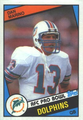 1984 Topps Dan Marino #123 Football Card