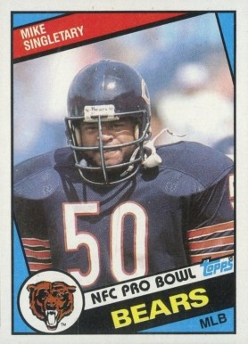 1984 Topps Mike Singletary #232 Football Card